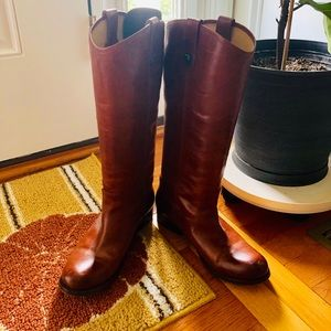Frye Riding Boots (extended calf)